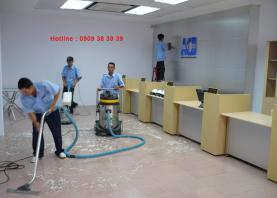 Dịch vụ vệ sinh làm sạch sau xây dựng