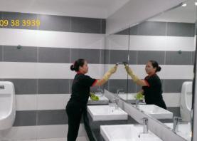 Các bước làm vệ sinh công nghiệp